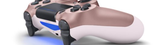 Four new DualShock 4 colors launching next month