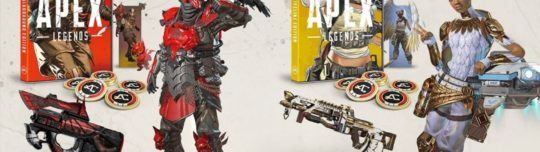 Apex Legends physical editions include exclusive skins