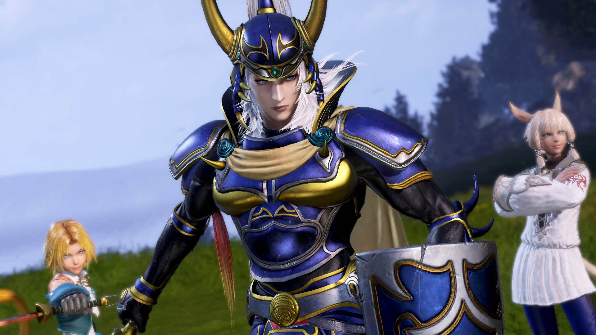 New Dissidia Final Fantasy Nt Character Will Be Revealed Next Week