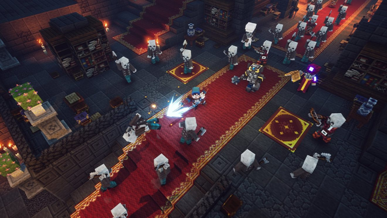 Minecraft Dungeons Launching In April Egm