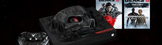 Microsoft is giving away a custom Terminator: Dark Fate Xbox One X