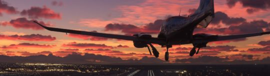 Microsoft Flight Simulator includes all airports on earth