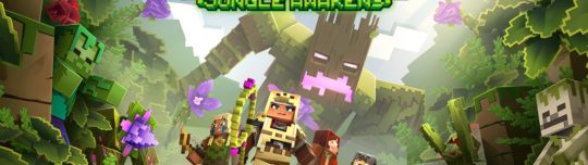 Minecraft Dungeons' Jungle Awakens DLC launching July