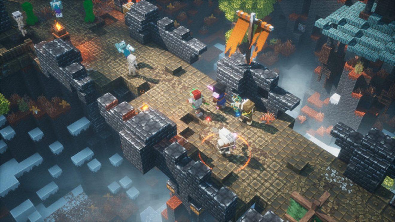 Minecraft Dungeons cross-play update in ...