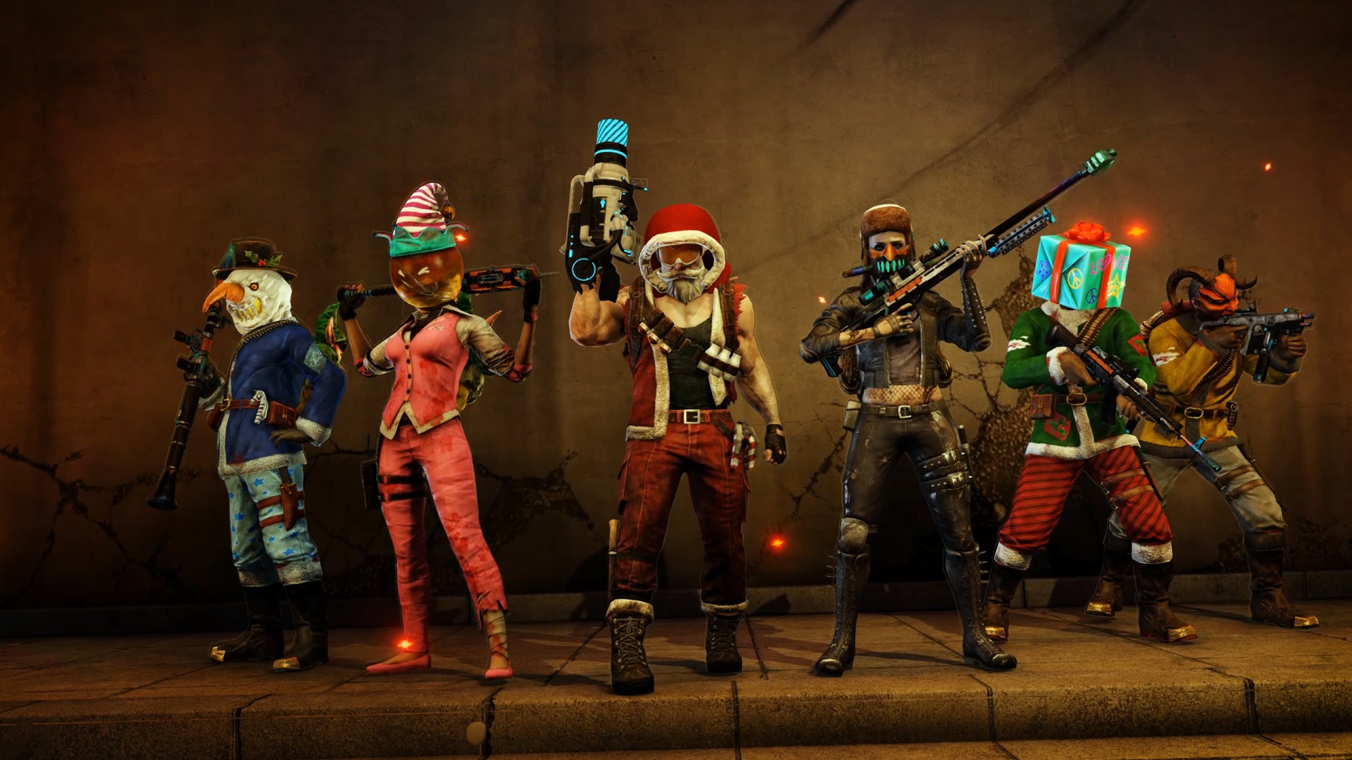 Kf2 Christmas 2021 End Killing Floor 2 S Christmas Crackdown Event Brings A New Map To Pc And Consoles Egm