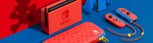 Nintendo reveals the first new Switch color ever with the Mario Red & Blue Edition